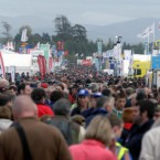 Large crowds attend the first day of the National Ploughing Championships in Athy, Co Kildare.  Niall Carson/PA Wire/Press Association Images<span class=