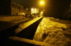 So what DID cause Monday night's floods?
