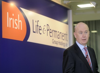 Irish Life & Permanent chief executive Kevin Murphy: staff at the Irish Life arm of the company are meeting tomorrow to consider potential strike action.