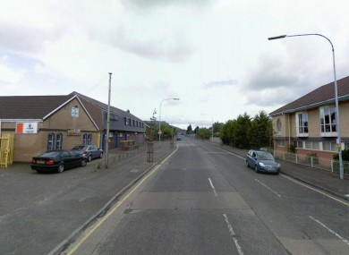 General view of Agnes Street, where the woman was attacked