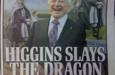 D-Day for the dragon slayer: Michael D takes over the front pages