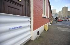 TD hacksawed locks to get sandbags to locals