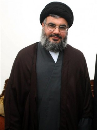 In this file photo made available by the Hezbollah Media Office, Hezbollah leader Sheik Hassan Nasrallah, is seen in Beirut, Thursday June 21, 2007.