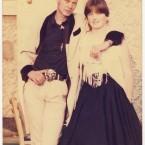 Stylish pair in 1985