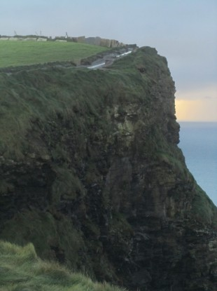 Sandra Clifford's photograph of the Cliffs of Moher
