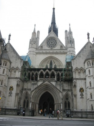 The Royal Courts of Justice in London. [File photo]