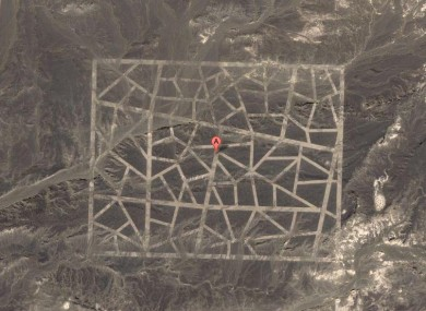 In pictures: What is China building in the Gobi desert? · TheJournal.ie