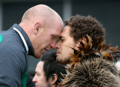 Paul O'Connell welcomed to New Zealand ahead of this year's Rugby World Cup.