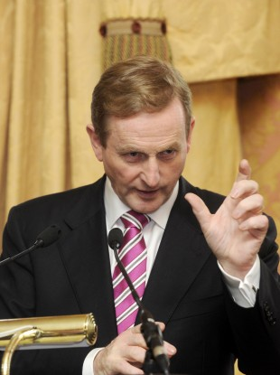 Enda Kenny pictured earlier this month.