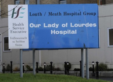 Our Lady of Lourdes Hospital in Drogheda (File photo)