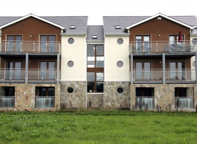 File photo of unoccupied apartments in Leitrim
