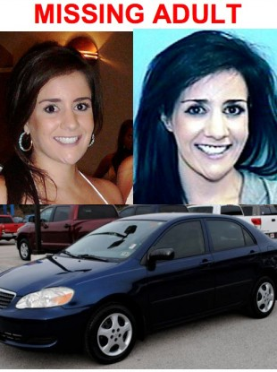 A police-issued missing adult flyer for Lauren Elizabeth Weinberg who was found yesterday.