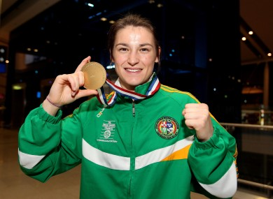 Katie Taylor: another good year.