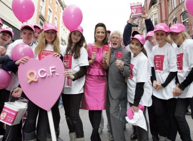 Volunteers at last year's Lollipop Day, the Oesophageal Cancer Fund's annual fundraiser