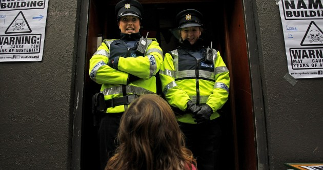 In pictures: Unlock NAMA occupation of building in Dublin city centre