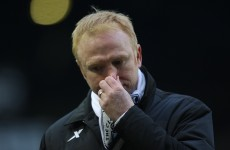 Losing hurts: McLeish wants FA to punish RVP 'elbow'