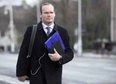 Minister Simon Coveney - one of whose advisers was reportedly paid €130,000 a year