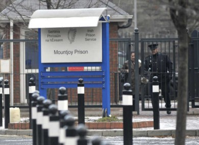 A total of 4,784 items were confiscated at Mountjoy Prison in the past 24 months.