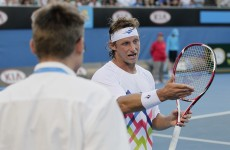 You can not be serious: Nalbandian attacks 'stupid' umpire