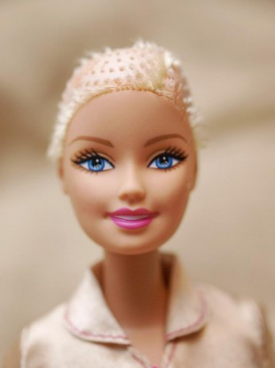 Cutting the hair off a Barbie doll isn't enough for some people - who want Mattel to manufacture a Barbie doll recovering from cancer treatment.