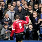 'Once a blue always a blue' he told them. But Wayne Rooney was soon on the move. Everton was only puppy love, at 17 Rooney thought himself a man and was seduced by the glamour of Manchester United. He still cares and checks up on his beloved Toffees from time to time, but they hold nothing but scorn for him.<span class=