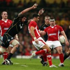 His ego probably had a hand in the score being 3-3 at half time, taking on too many pick-and-gos for himself. Yet he proved why he does it with the brilliant drive and offload for Leigh Halfpenny's second try.<span class=