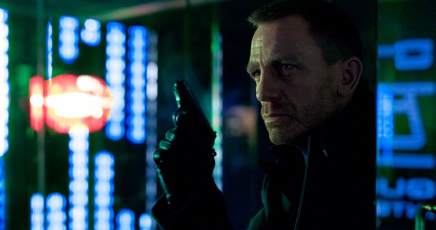 First pic of new Bond film: Daniel Craig's grown a beard.