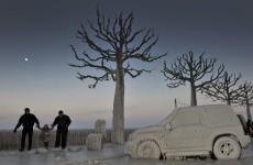 In pictures: more than 200 dead after cold snap hits Europe