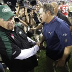 The New York Jets cried their eyes out and the mascara streamed down their chin. Bill Belichick (right) had been assistant to Bill Parcells at the Jets until 1999. When Parcells stood down, Belichick stepped up. However, after just one day he jumped into bed with the New England Patriots. Three Superbowls later the Jets wonder what might have been.<span class=