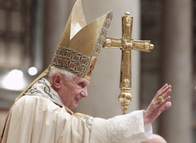 Pope Benedict XVI (File photo)