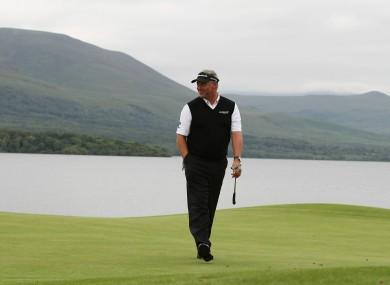 Darren Clarke at the 2011 Irish Open in Killarney
