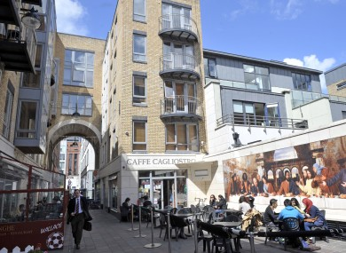 The Italian Quarter on Dublin's Ormond Quay