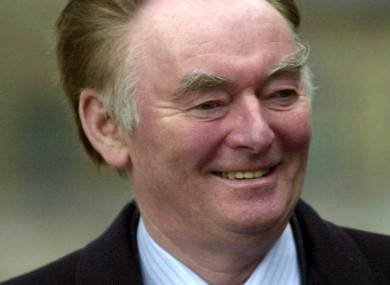 Pádraig Flynn pictured in 2004