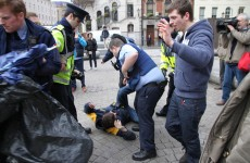In pictures: Gardaí prevent Occupy camp regeneration