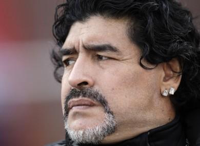 Maradona has criticised Pele for the umpteenth time.