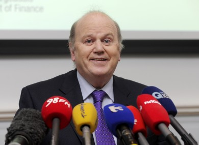 Minister for Finance Michael Noonan