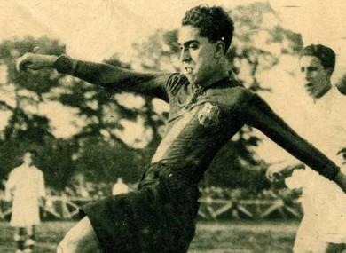 Alcantara in action for Barcelona.