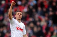 Deal or no deal? Wenger denies Podolski's on the way