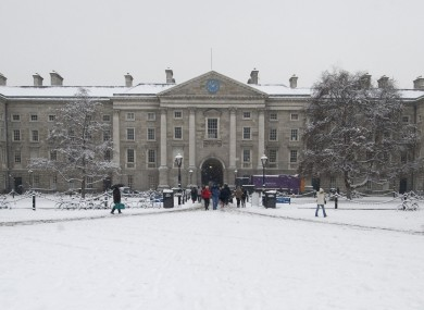 Ireland's top-ranked universities, led by Trinity College, do not feature in a new list of the world's most highly-regarded institutions.