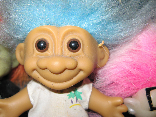 1990s Troll Dolls Stage a troll uprising if