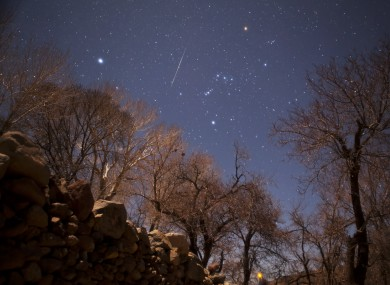 At their brightest, this weekend's Lyrid meteor sh