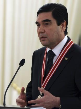 President Berdymukhamedov.