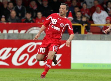 Cretaro opened his goalscoring account with a header against Bray last week