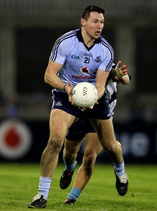 Eamon Fennell starts in midfield for Dublin.
