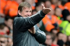 Dalglish blames referee in Villa draw