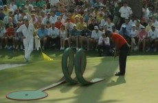 VIDEO: Top golfers get into swing with Masters crazy golf in YouTube promo