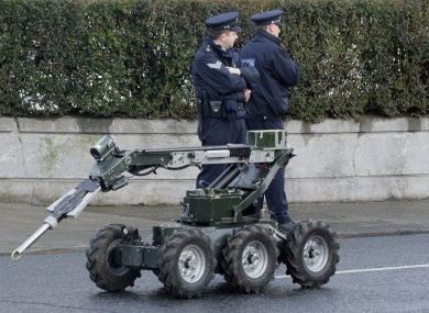 A Defence Forces EOD team was dispatched to Limerick after a number of hand grenades were found this morning.