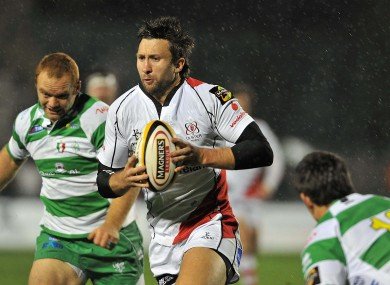 Simon Danielli in action against Treviso last season.