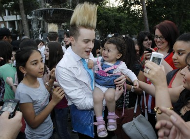 Jedward haven't quite won over everyone in Baku, it seems.