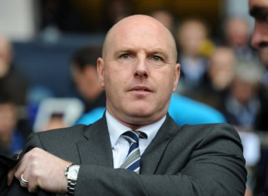 Steve Kean: set for talks with club's owners in India.